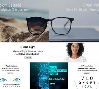 跨境电商培训机构企业孵化案例:Vlookoptical光学眼镜
