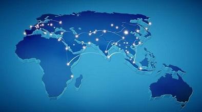 全球电商线路辐射