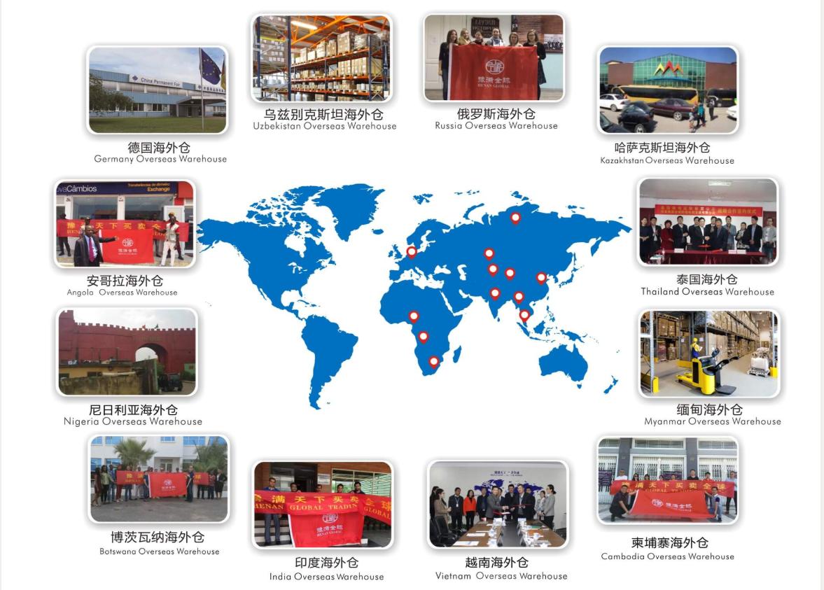 豫满全球跨境电商海外市场海外仓展示