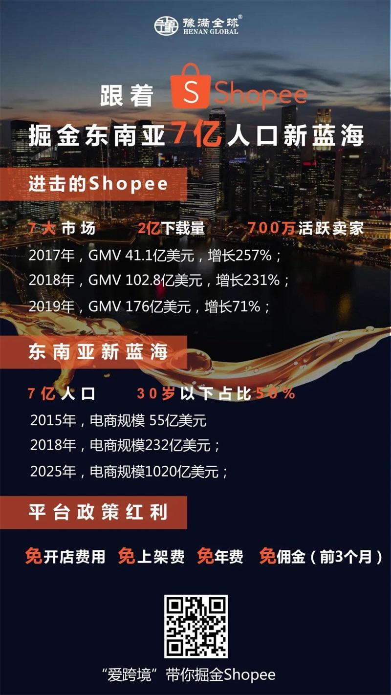 跟着shopee虾皮掘金7亿人口跨境电商新蓝海,你准备好了吗?1